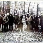 Výlet do přírody - mezi výletníky Václav Havel, Ivan Klíma, Iva Kotrlá, Eda Kriseová a další