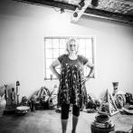 Silvestra Chnápková dnes ve své keramické dílně