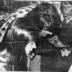 Po práci zábava. Na snímku Květa Princová s mužem Janem Princem.